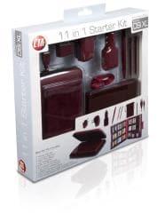11 in 1 Starter Kit for DSi XL - Wine Red - Thumbnail 1