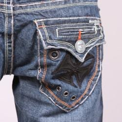 Laguna Beach Jean Company Men's 'Newport Beach' Denim - Thumbnail 2