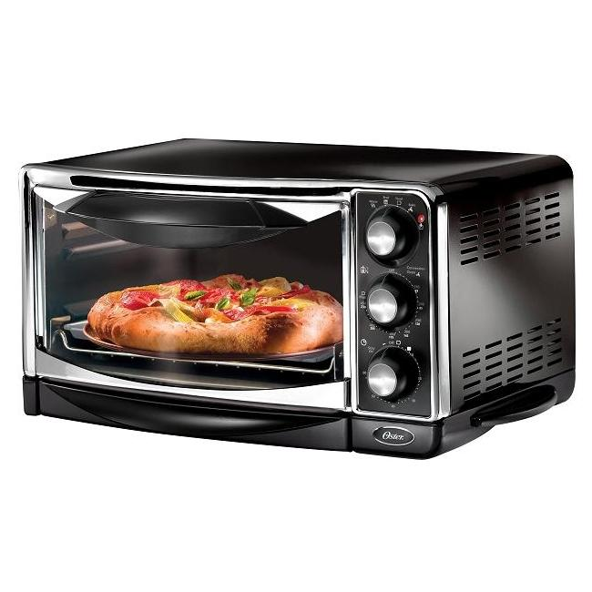 Shop Oster 6290 6 Slice Black Convection Toaster Oven