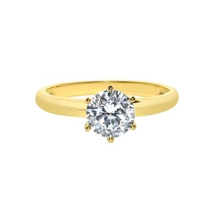 0e89ac712e852 Buy 14k Cubic Zirconia Rings Online at Overstock | Our Best Rings Deals