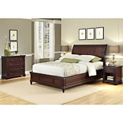 cherry bedroom set. Home Styles Lafayette Full  Queen Bedroom Set Cherry Finish Sets For Less Overstock com