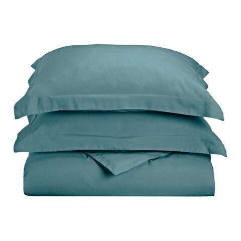 Superior Wrinkle Resistant Brushed Microfiber Duvet Cover Set