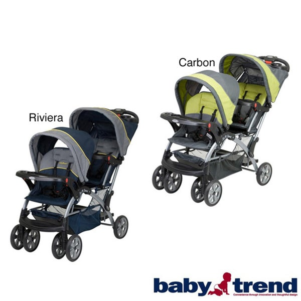 Baby Trend Sit N Stand Double Stroller Free Shipping