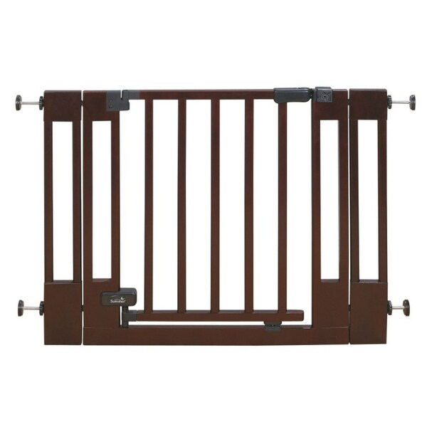 Shop Summer Infant Sure Amp Secure Deluxe Top Of Stairs Gate Free Shipping Today