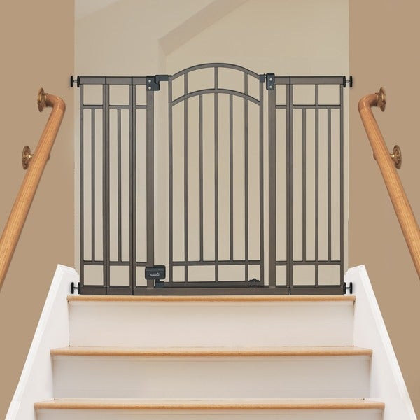 Summer Infant Stylish N Secure Bronze Walk Thru Gate