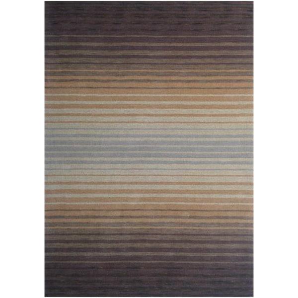 Loomed Leonis Sunset Wool Rug (8' x 11')
