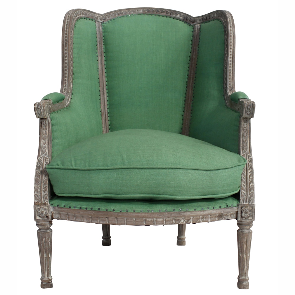 nuLOOM Casual Living Vintage Green Arm Chair