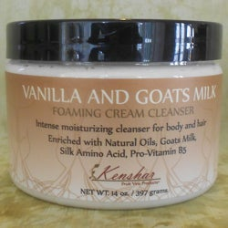 Kenshar Fruit Vine ProductsVanilla and Goat's Milk Cream Cleanser