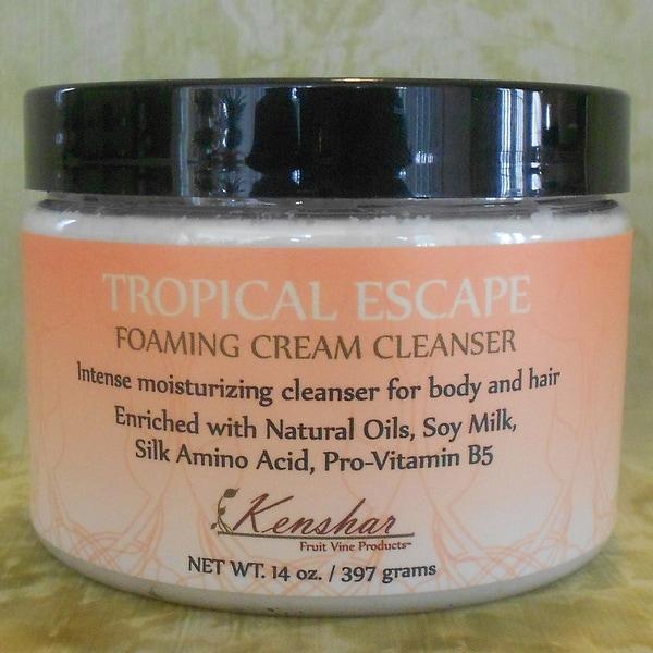 Kenshar Fruit Vine Products Tropical Escape Cream Cleanser