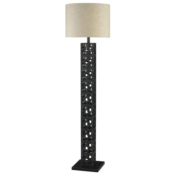 Shag Floor Lamp