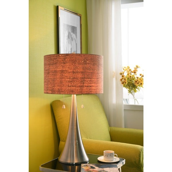 Design Craft Bachman Natural Cork Shade 30-inch Table Lamp