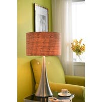 Strick & Bolton Laurindo Natural Cork Shade 30-inch Table Lamp