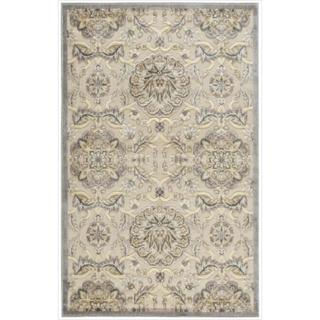 Nourison Graphic Illusions Modern Ivory Rug (2'3 x 3'9)