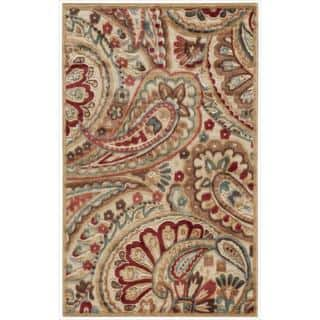 Nourison Graphic Illusions Paisley Red Multi Rug (2'3 x 3'9) https://ak1.ostkcdn.com/images/products/7210684/7210684/Nourison-Graphic-Illusions-Paisley-Red-Multi-Rug-23-x-39-P14695533.jpg?impolicy=medium