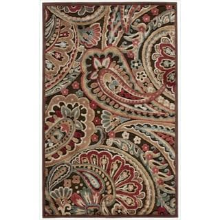 Nourison Graphic Illusions Paisley Multi Color Rug (2'3 x 3'9)