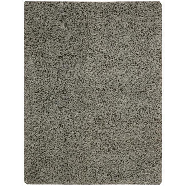 Nourison Zen Grey Shag Area Rug (3'6 x 5'6)