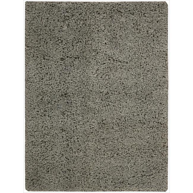 Nourison Zen Grey Shag Area Rug (7'6 x 9'6)
