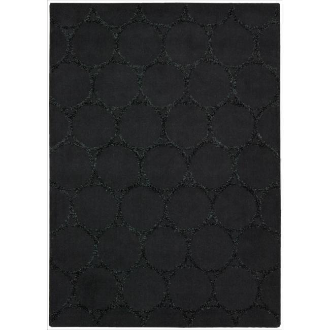 Joseph Abboud Monterey Charcoal Area Rug by Nourison (5'3 x 7'4)