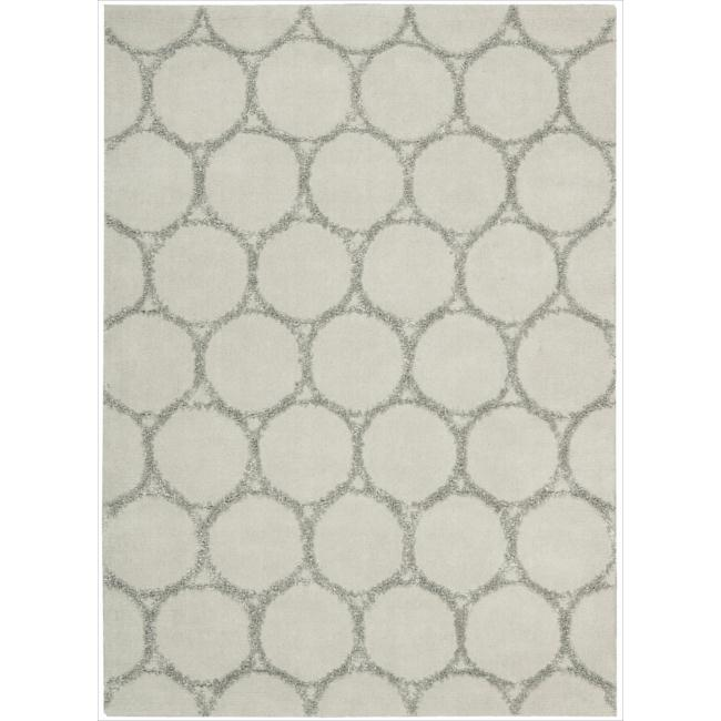 Mina Victory Monterey Silver Area Rug by Nourison (7'9 x 9'9)