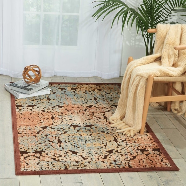 Nourison Graphic Illusions Vintage Distressed Area Rug