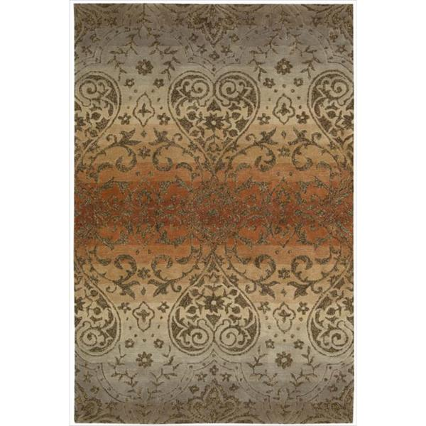 Nourison Hand-tufted Harvest Panorama Rug (5' x 7'6)