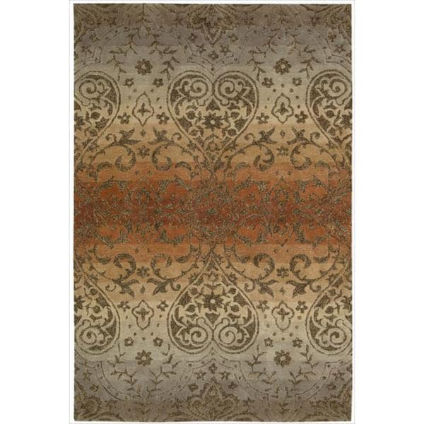 Nourison Hand-tufted Harvest Panorama Rug (8' x 10'6)