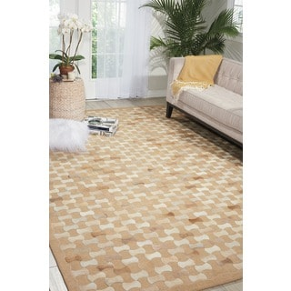 Mina Victory Chicago Beige Area Rug by Nourison (8' x 11')