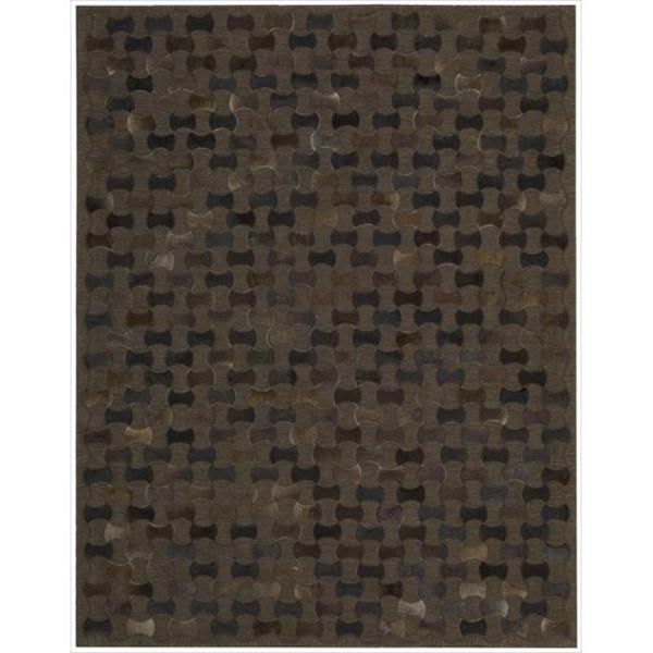 Joseph Abboud Chicago Chocolate Area Rug by Nourison (8' x 11') - 8' x 11'