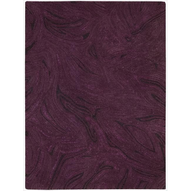Joseph Abboud Modelo Mulberry Area Rug by Nourison (5'6 x 7'5)