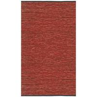 Hand-woven Matador Copper Leather Rug (9' x 12') - 9' x 12'