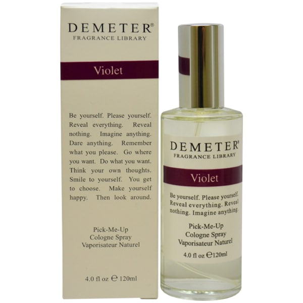 Demeter Violet Women's 4-ounce Cologne Spray