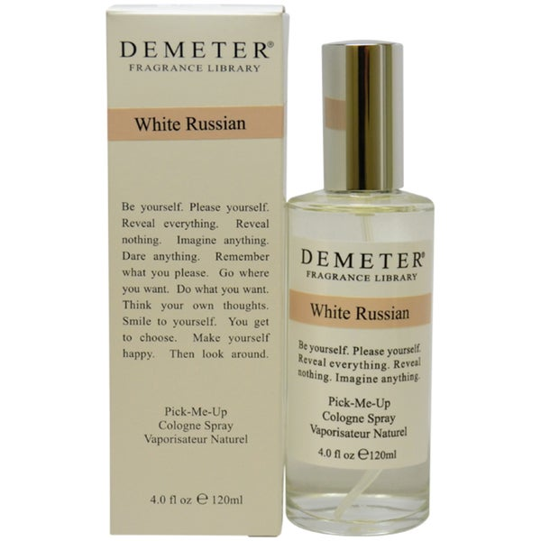 Demeter White Russian Women's 4-ounce Cologne Spray
