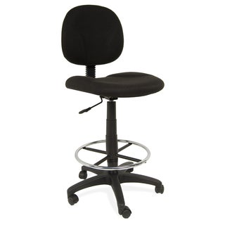 Studio Designs Black Adjustable Ergo Pro Chair with Contoured Padding