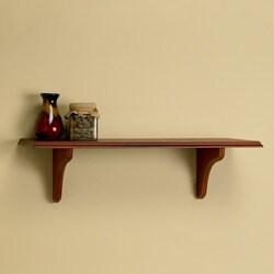 Windsor 16-inch Shelf Kit with Mahogany Finish
