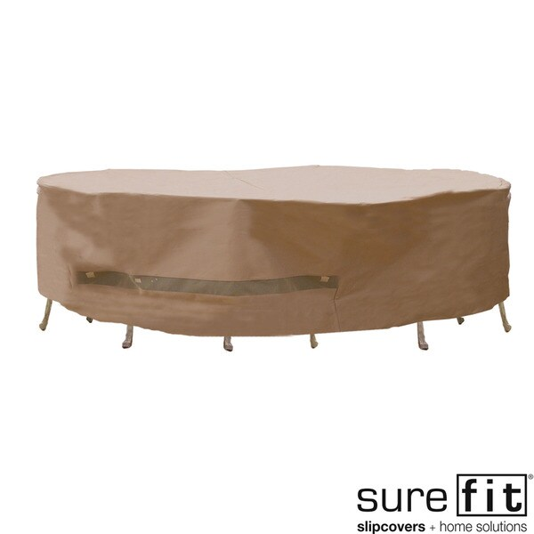 Sure Fit Oversized Patio Set Cover