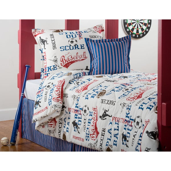 All American Twin 3-Piece Comforter Set