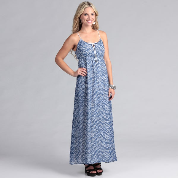 69ec5d3090 Shop Institute Liberal Chiffon Maxi dress - Free Shipping On Orders ...