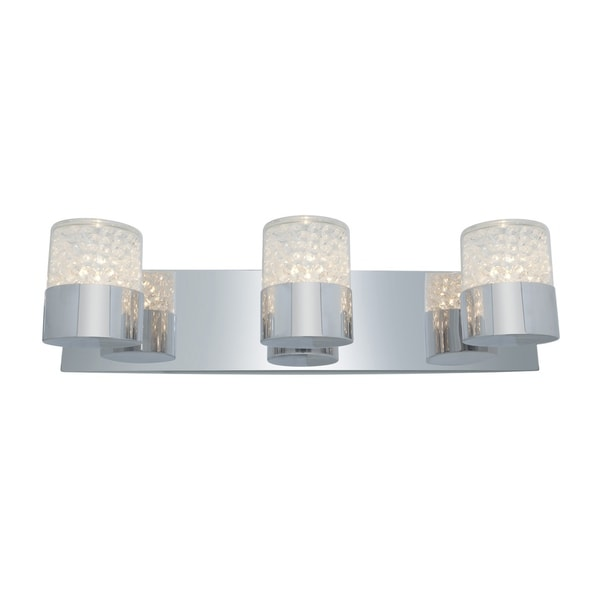 Access Kristal 3-light Chrome Wall Sconce