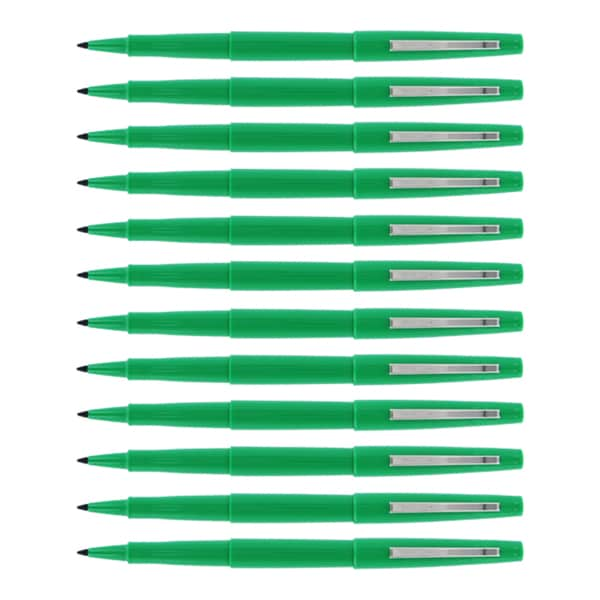 Sanford PMOP Porous Nylon Fiber Point Pen (Pack of 12)