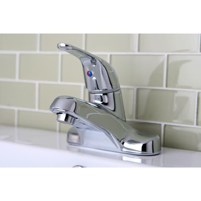 Single Handle Chrome Bathroom Faucet