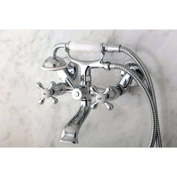Faucets And Fixtures : Victorian Wallmount Clawfoot Bath Tub Faucet - Free Shipping Today ...