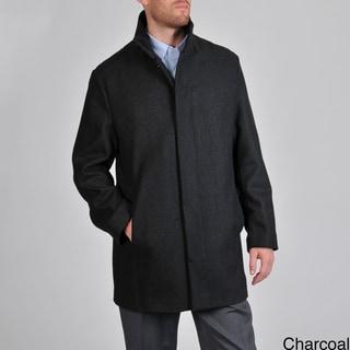 Perry Ellis Portfolio Men's Wool Blend Jacket