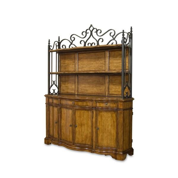 A.R.T. Furniture Provenance Metal Antique Wood Shelves Deck