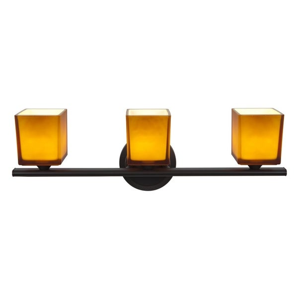 Access 'Hermes' 3-light Oil Rubbed Bronze Vanity Fixture