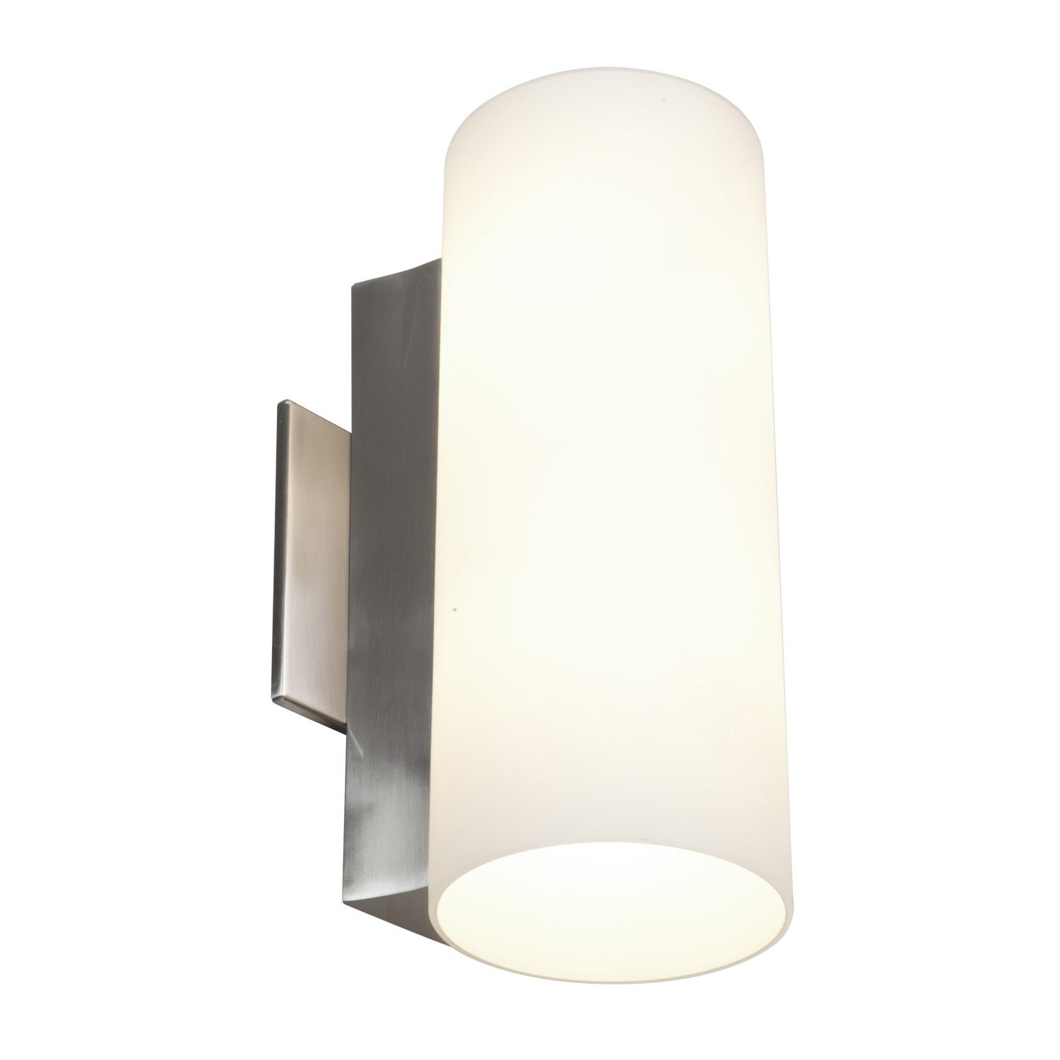 Access Taboo 2-light Brushed Steel 11.8-inch Wall Sconce
