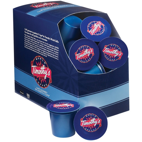 Timothy's World Coffee, French Vanilla K-Cups for Keurig Brewers 96 K-Cups