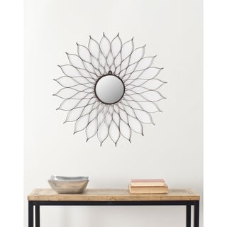 "Safavieh Handmade Art Rustic Flower 35-inch Decorative Mirror - 35"" x 35"" x 0.5"""