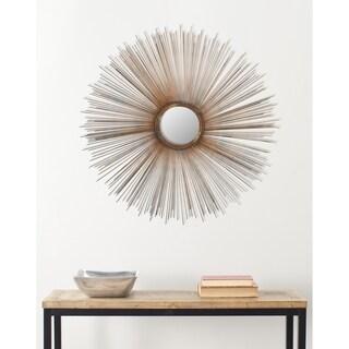Safavieh Handmade Arts and Crafts Copper 41-inch Sunburst Mirror - Grey