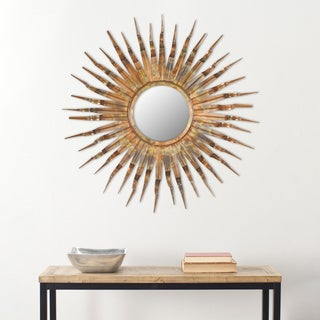 Safavieh Handmade Arts and Crafts Solar 36-inch Sunburst Mirror
