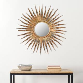 Safavieh Handmade Arts and Crafts Solar 36-inch Sunburst Mirror|https://ak1.ostkcdn.com/images/products/7211145/P14695868.jpg?impolicy=medium